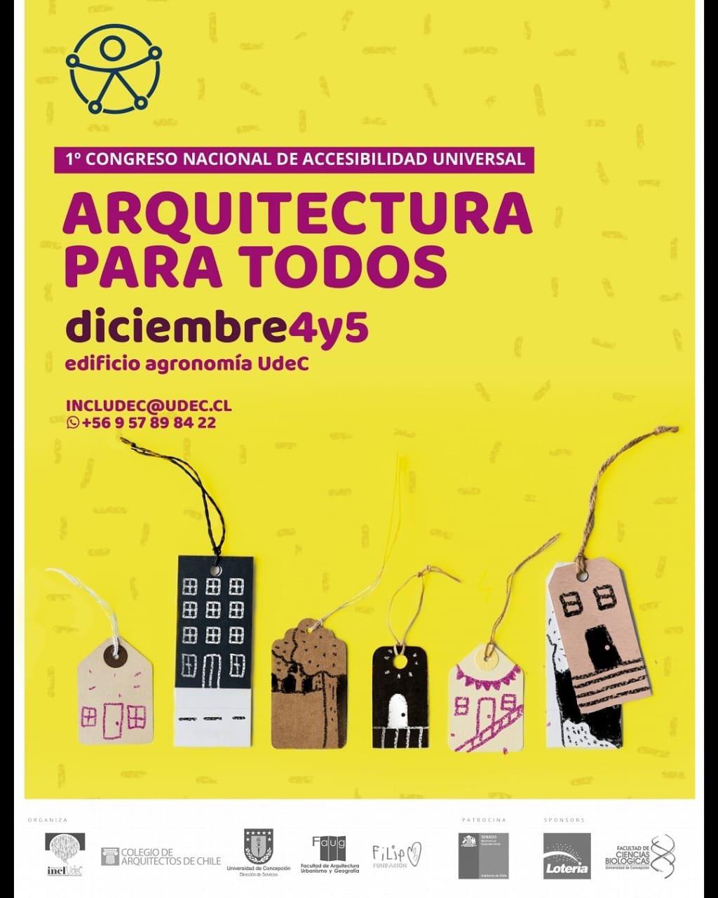 """Congreso Nacional de Accesibilidad Universal """"Arquitectura para todos"""""""