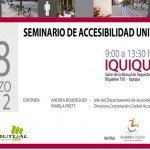 Seminario accesibilidad universal iquique