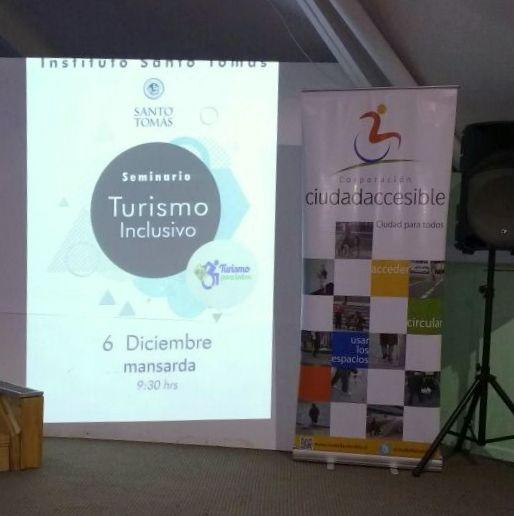 Seminario Turismo Inclusivo Universidad Santo Tomás