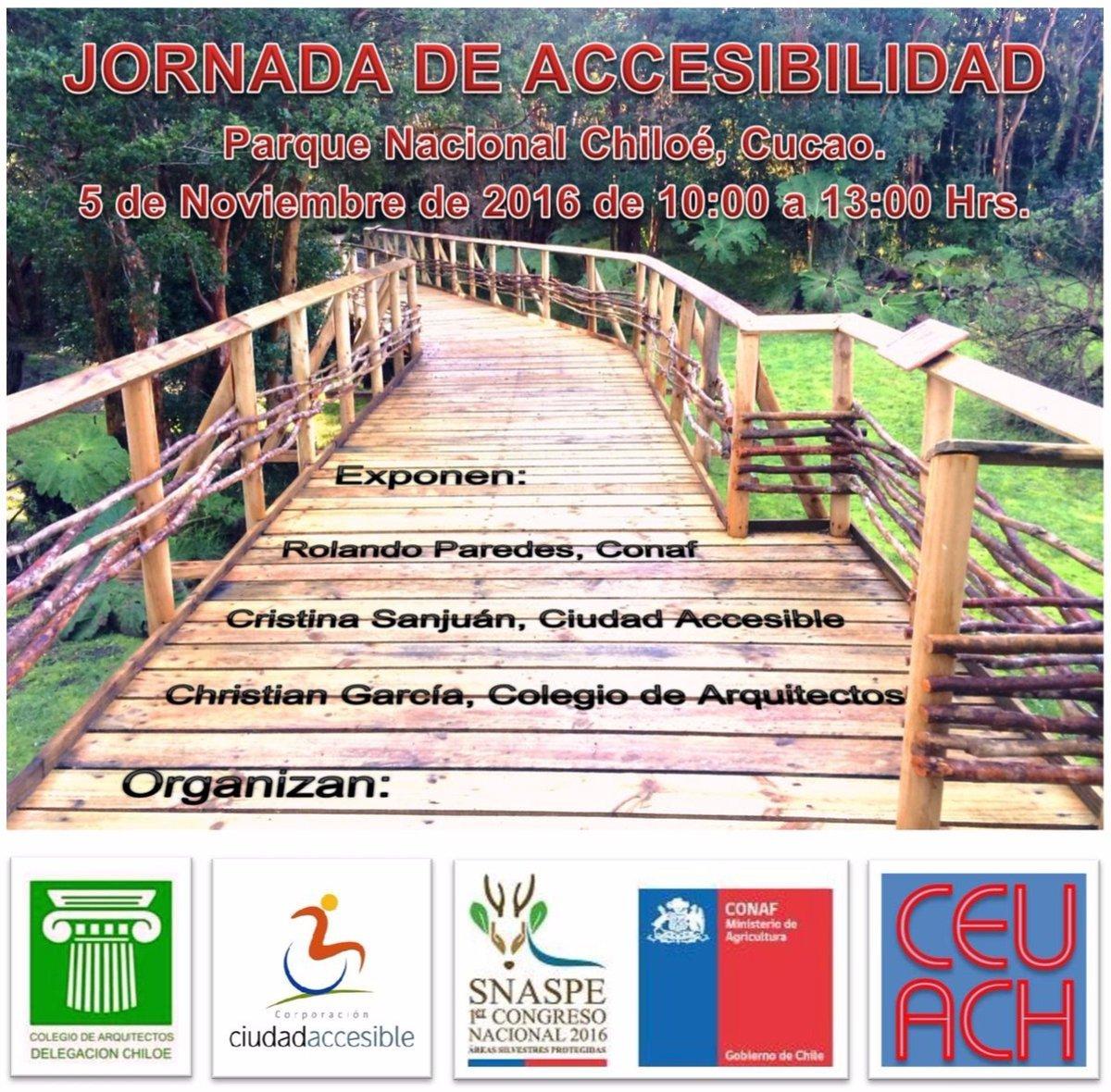 Jornada de Accesibilidad Parque Nacional Chiloé Cucao