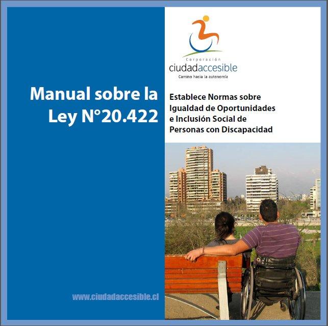 Portada Manual de la Ley 20422