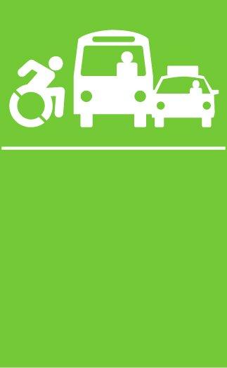 transporte accesible icono
