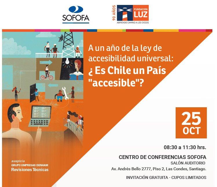volante Seminario Fundación Luz - Sofofa