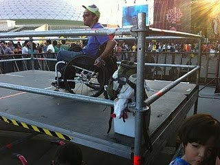 Eventos y accesibilidad para personas en silla de ruedas