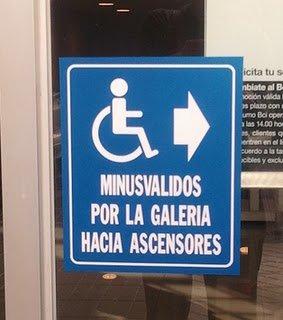 Señalizaciones, lenguaje y accesibilidad en la ciudad