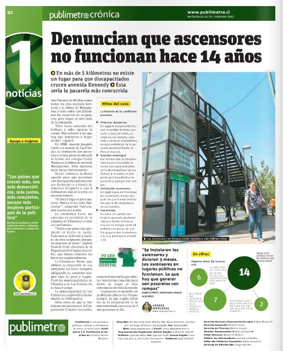 Diario Publimetro Noticia