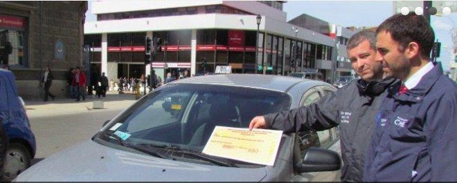 Lanzamiento de campaña por el correcto uso de los estacionamientos reservados para personas con discapacidad