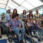 Participantes y usuarios de estacionamientos accesibles para personas con discapacidad