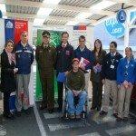 SENADIS de Puerto Montt impulsó campaña de Estacionamientos para Personas con Discapacidad. Foto: Senadis