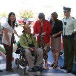 Campaña de estacionamiento de Senadis en Linares