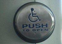 botón de apertura automática de puerta