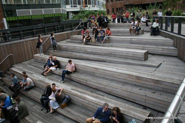 Anfiteatro High Line NY