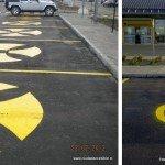 Aeropuerto Punta Arenas con correcciones en señalización de estacionamientos para personas con discapacidad