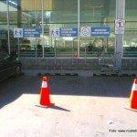 Estacionamientos para personas con discapacidad en Homecenter_ antes