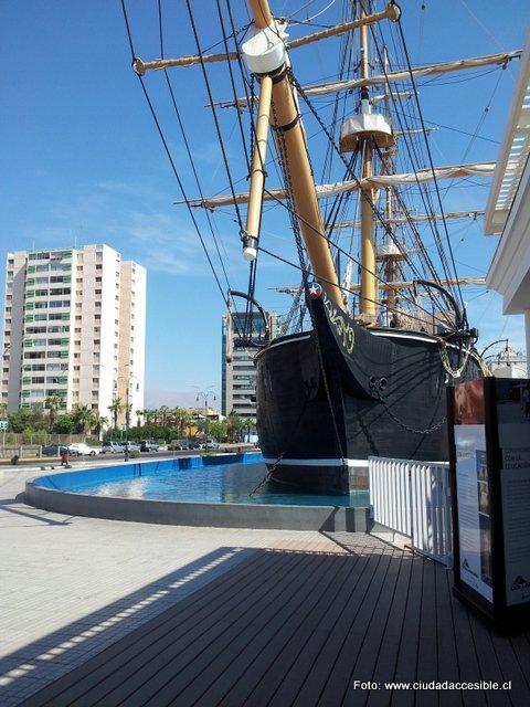 Visita al Museo Corbeta Esmeralda, un destino casi 100% accesible que vale la pena conocer