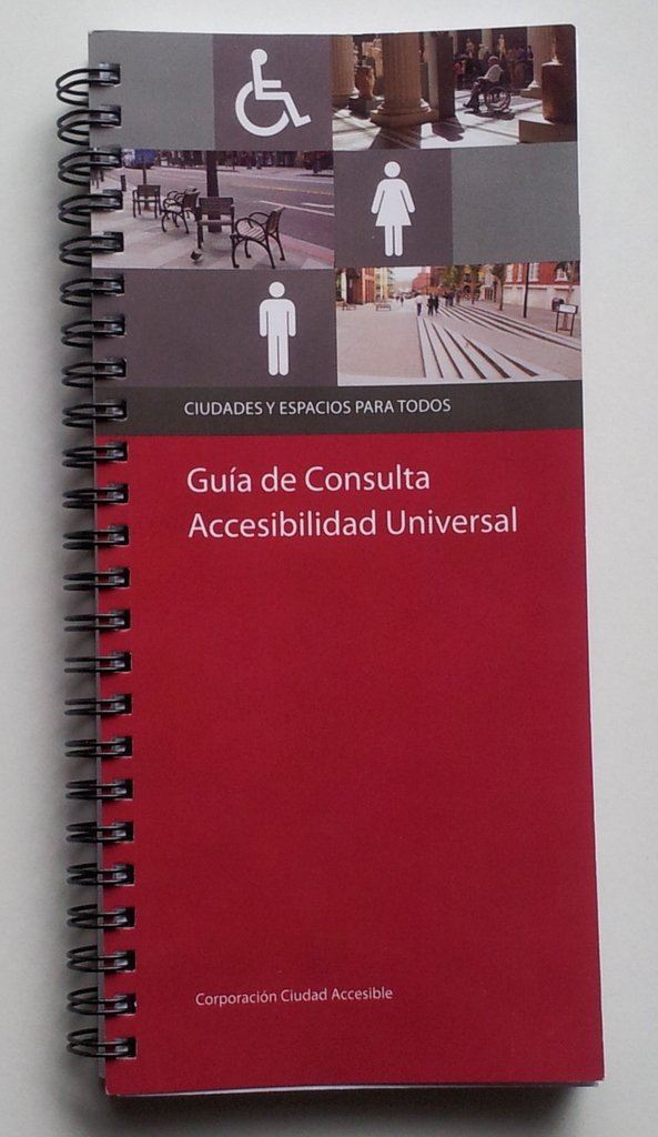 Manual de Accesibilidad Universal reeditado en un nuevo formato