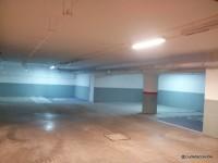 Últimos dos estacionamientos para PcD en el rincón más alejado