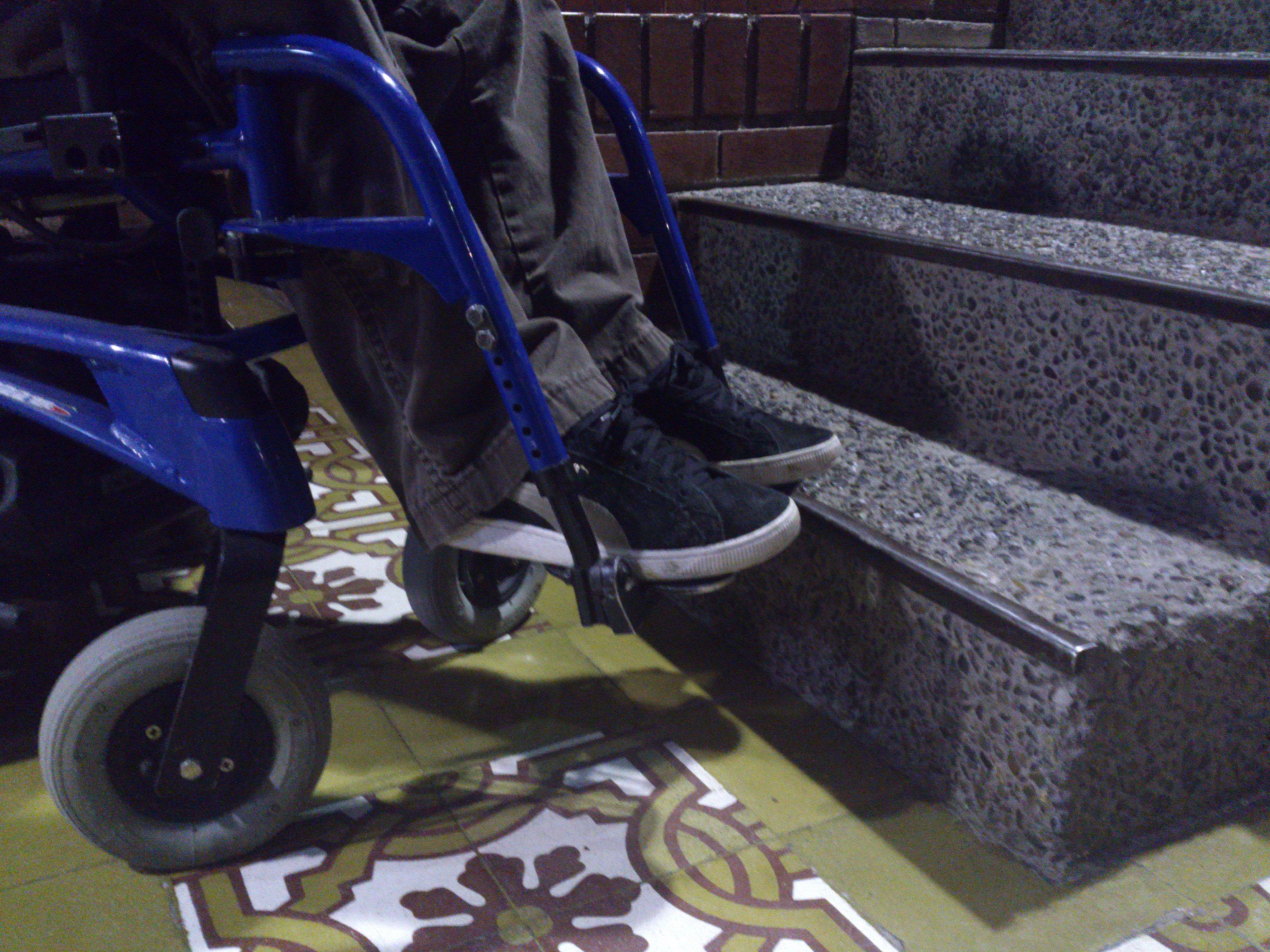 El día a día en silla de ruedas… una forma de aprender a ponerse en el lugar de otros