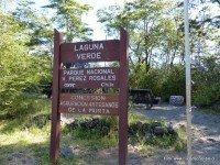 Sendero Laguna Verde Parque Nacional Vicente Pérez Rosales