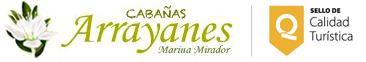 logo cabañas arrayanes chiloe