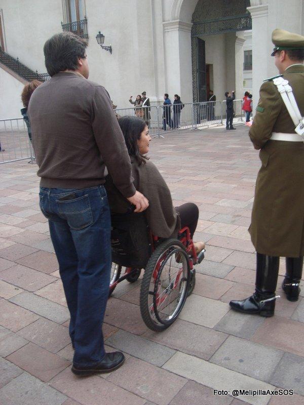 Día del Patrimonio 2013 | Visita al Palacio de la Moneda en silla de ruedas