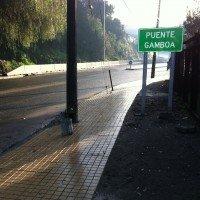 Puente Gamboa Acceso peatonal Sur