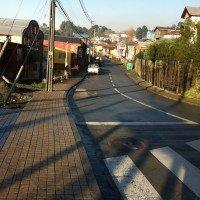 Acceso peatonal a Puente Gamboa