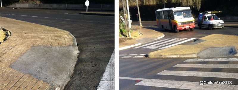 Puente Gamboa rebajes acceso peatonal sur