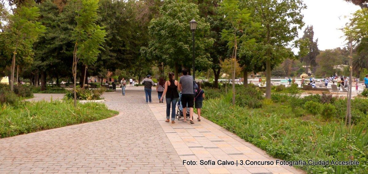 accesibilidad universal en circulaciones peatonales