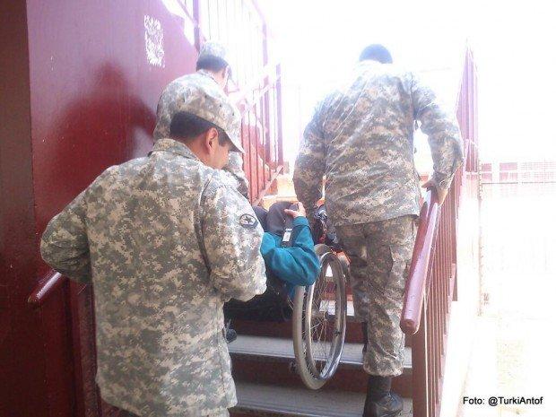 Acarreos por escaleras en Antofagasta Elecciones 20131 Foto:@TurkiAntof