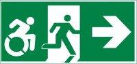 evacuación en caso de emergencias