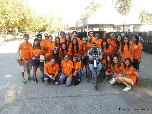 voluntarios Lollapalooza día sábado