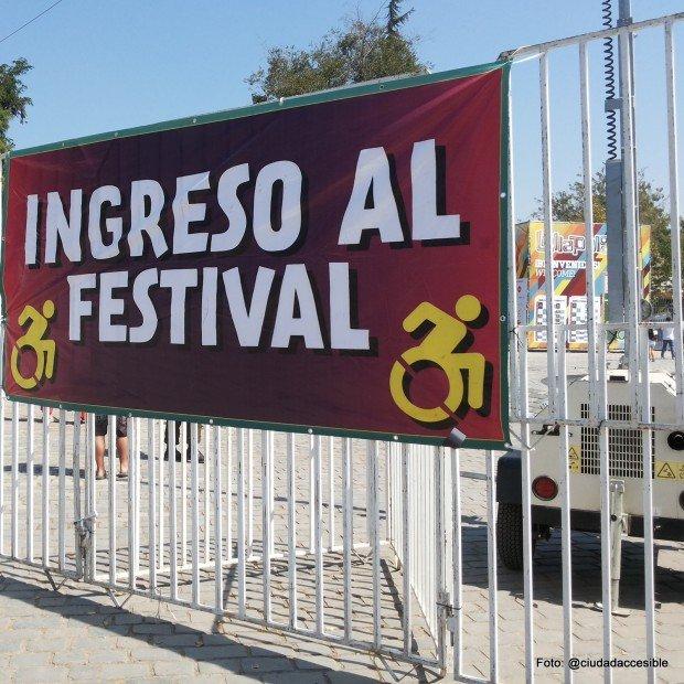 accesibilidad Lollapalooza acceso festival