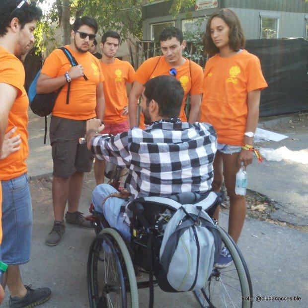 voluntario Lollapalooza 2015