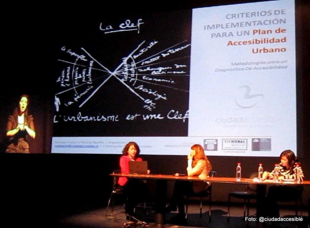 Bienal Arquitectura 2015   Jornadas de Accesibilidad Universal