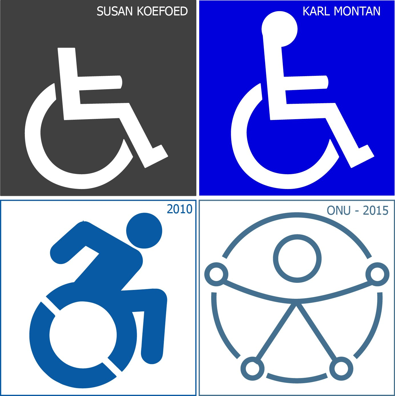 Símbolo Internacional de Accesibilidad | Evolución de un ícono