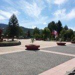 Hermosa plaza de Lonquimay