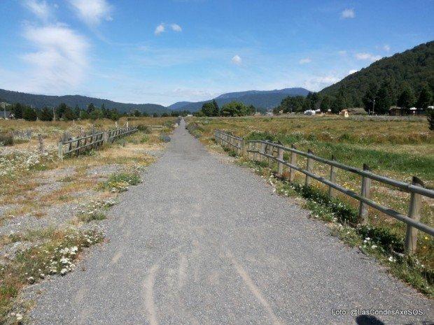Distintas vistas de la ruta