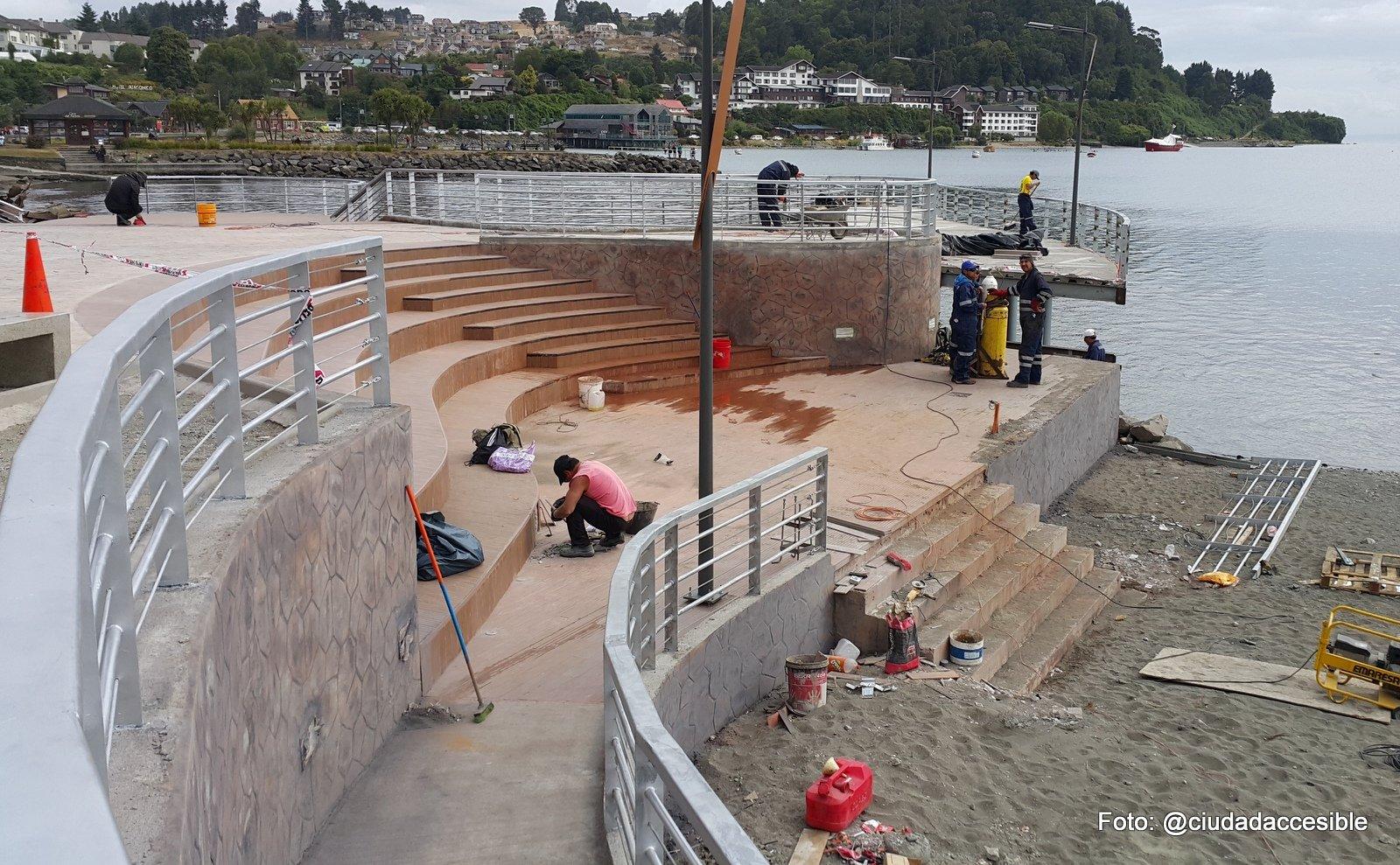 Avances y retrocesos accesibles | Puerto Varas
