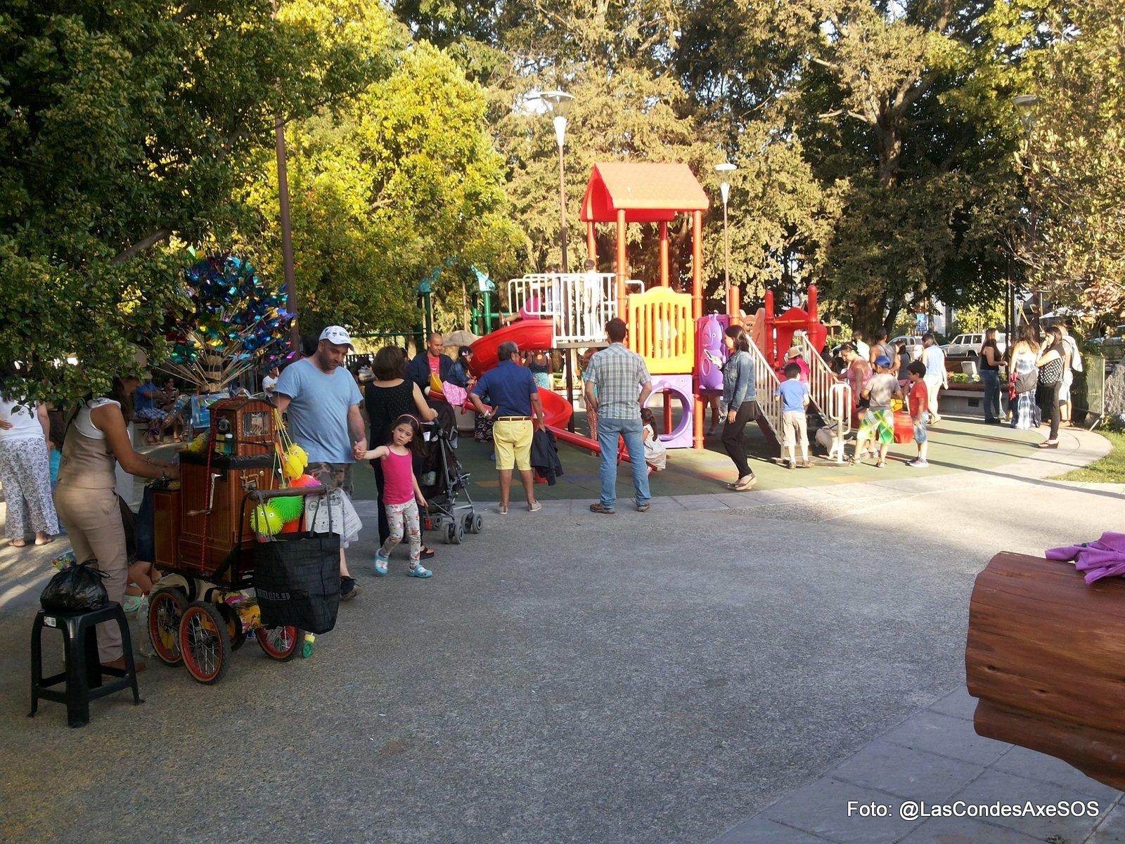 Juegos infantiles sin opción de juego inclusivo