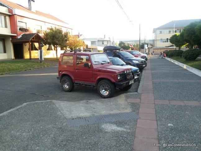 Mejor ubicación para demarcar estacionamiento para personas con discapacidad