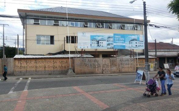 Municipalidad en remodelación