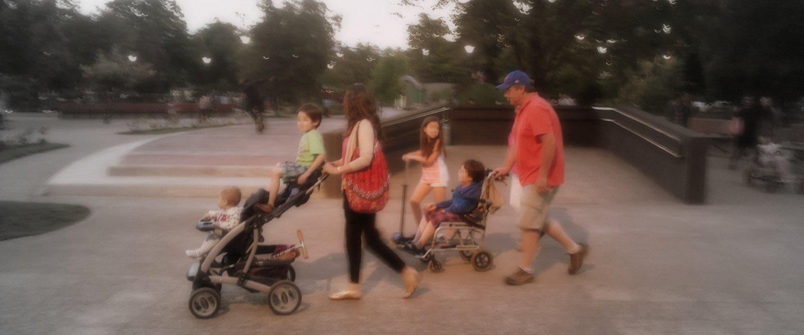 familia en pucon