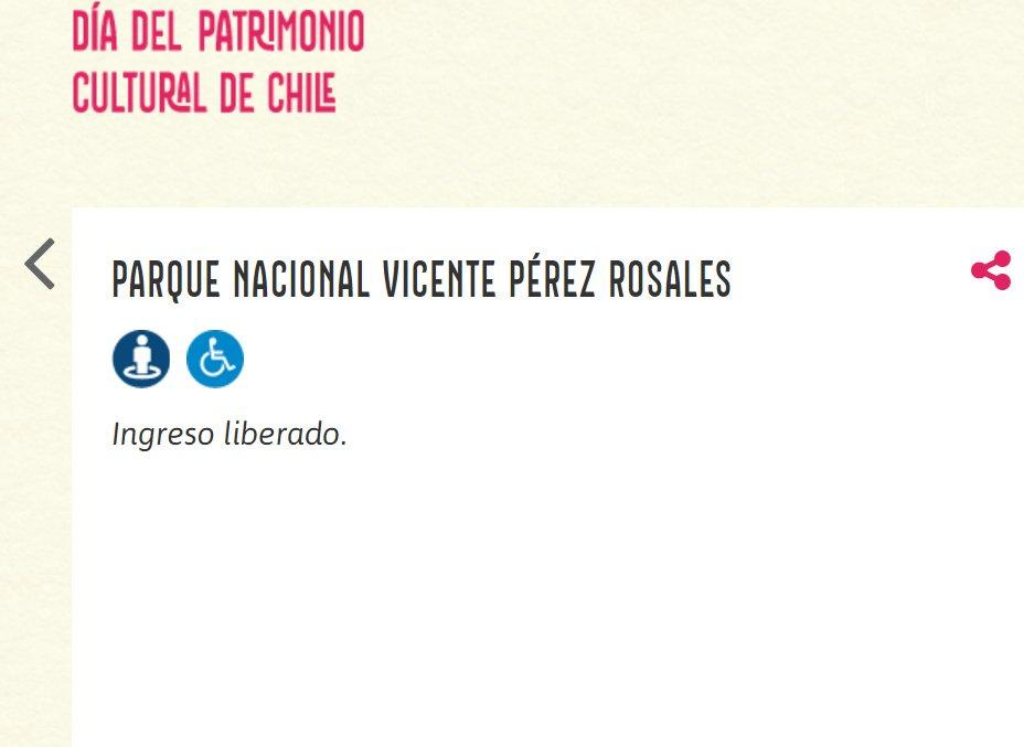 Captura de pantalla- Info web accesibilidad Parque Vicente Pérez Rosales