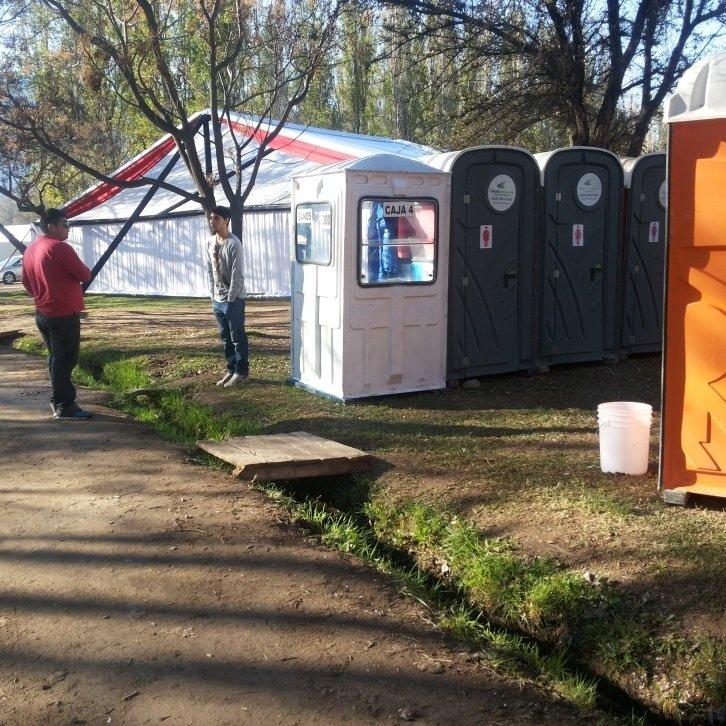 circulaciones inaccesibles en el evento semana de la chilenidad