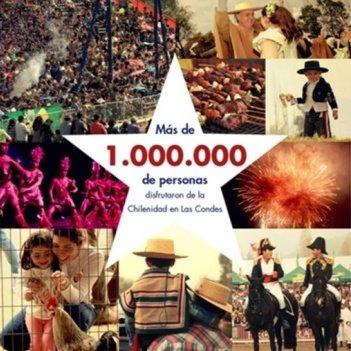 más de un millon de personas visitaron el parque intercomunal la reina durante la semana de la chilenidad