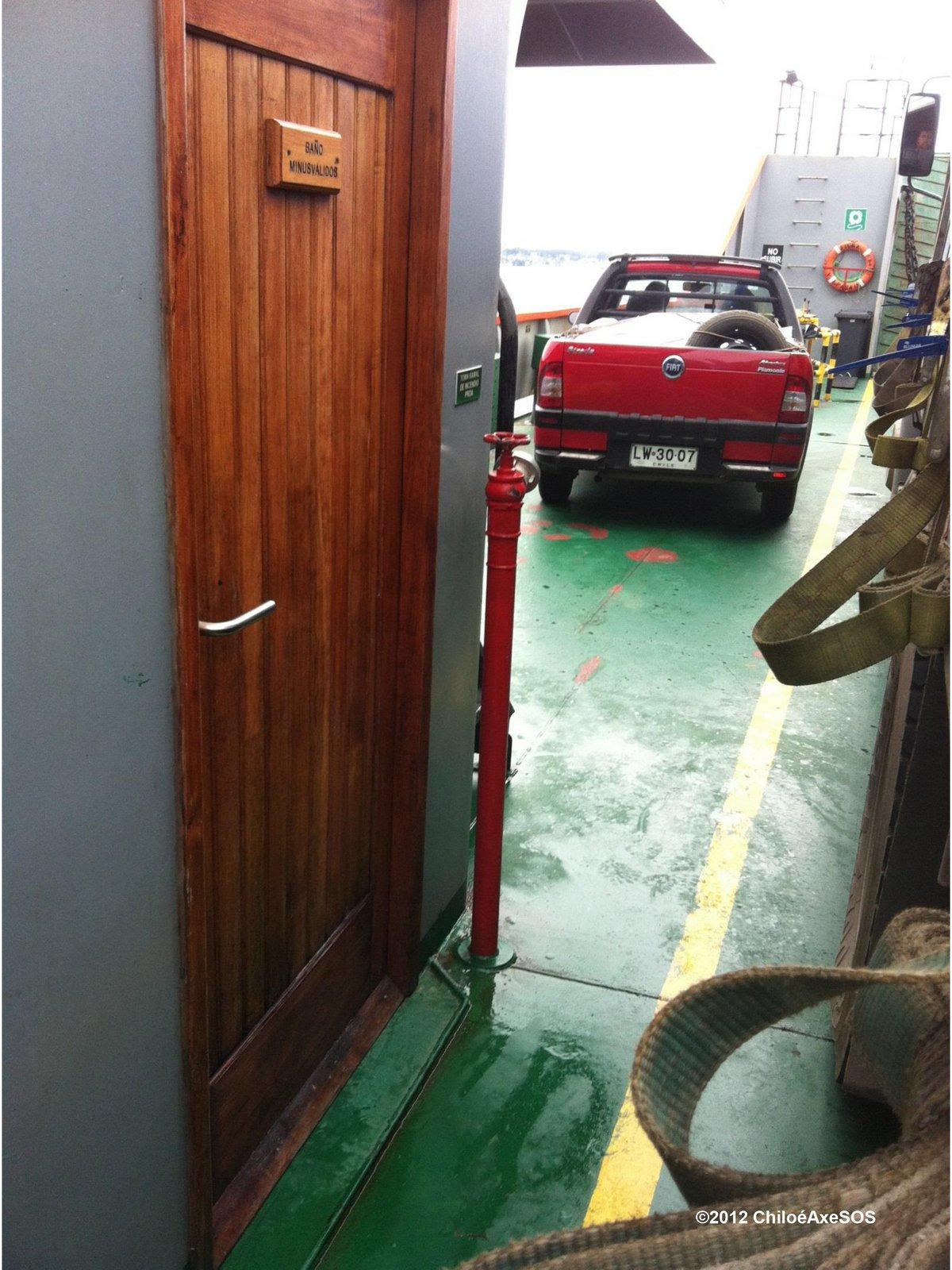 2012 Baño accesible de difícil acceso