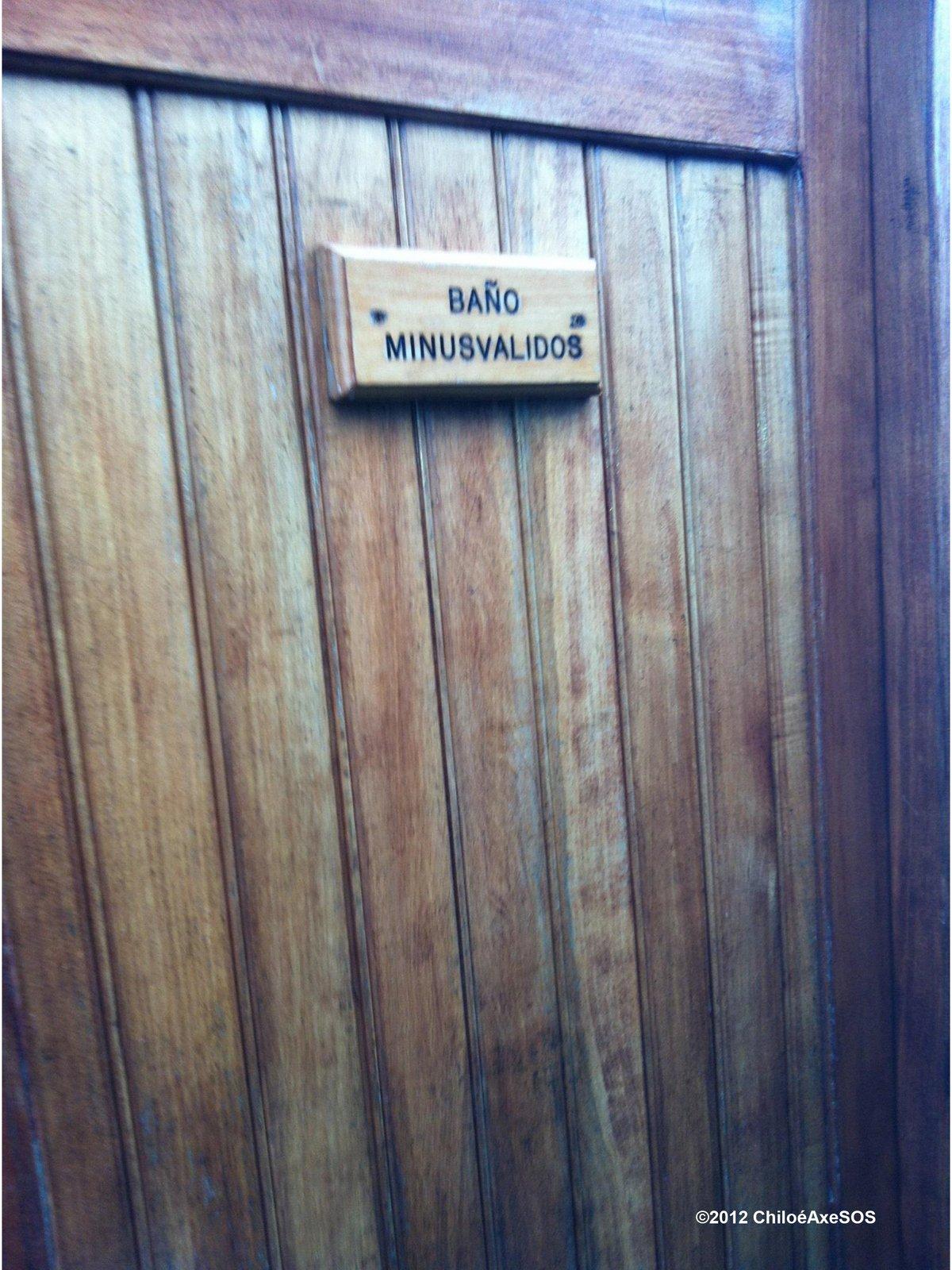 2012 Señalética baño minusválidos