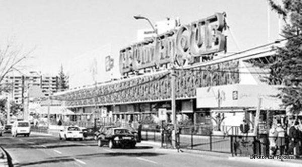 fachada apumanque en años 80