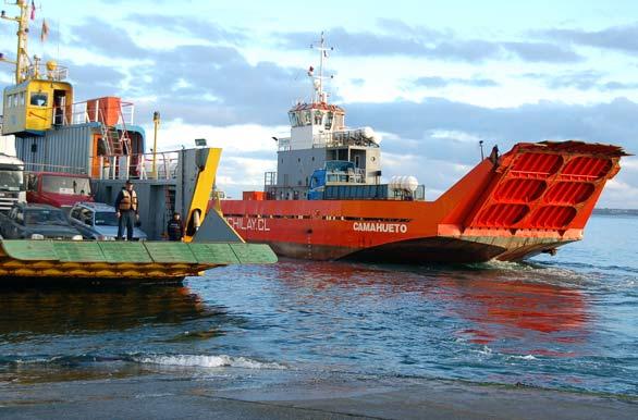Ferris en Canal de Chacao Foto Interpatagonia